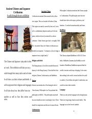 Ancient China and Japan.odt