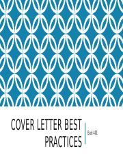 Cover Letter Best Practices.pptx