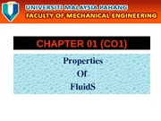 01_Properties of Fluids (CO1)
