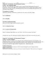 Chapter 1920 Study Guide - Civil Liberties.docx