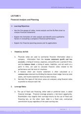 FM_L05_Financial Analysis & Planning0