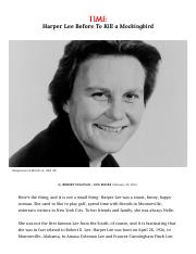 Harper Lee's Life Before 'To Kill a Mockingbird' _ Time.pdf