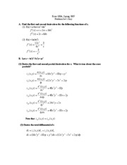 Econ100a spr07 hw1 answers