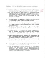 MSE 221 - Practice Final Solutions