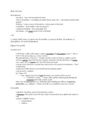 BME 402 Notes
