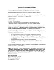 honors-ap course placement criteria-2013