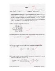 MATH218 Quiz 3