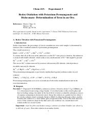 5- Lab5- Permanganate and Dichromate Titration.pdf