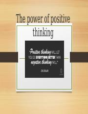 positive thinking.odp