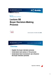 Lecture5B Decision Making