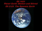 lecture+6+EARTH+SIZE+AND+STRUCTURE++Jan+21+2015