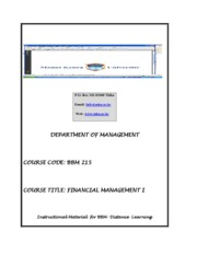 BBM_215_FINANCIAL_MANAGEMENT_I