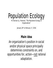 Day 05-06 Population Ecology 29 Jan-1 Feb 2016.pptx