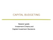 5. FIN 301-F09 Lab 5 Capital Budgeting PART I