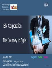 IBM-The-Journey-to-Agile-June-2016-NCS-Final.ppt