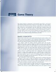 Nicholson-Chapter 8 Game Theory.pdf