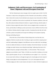 REL108 Final Paper - Judgment, Faith and Suffering Draft Final