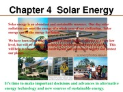 Chapter 4  Solar Cells