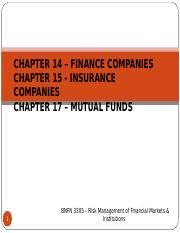 Chapter 14, 15 & 17 Spring 18.ppt