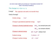 H_Thermchemistry_I_Review_and_Enrichment