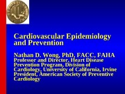CVD Definitions and Statistics April 2010