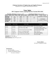 MSCS Time Table Spring Semester 2017 Session 2016-18.docx