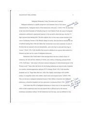 malignant melanoma essay