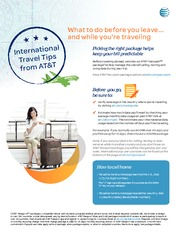 International Travel-Tips
