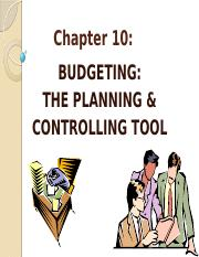 Topic 10 - BUDGETING.pptx