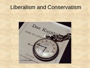 19 Liberalism and Conservatism lecture