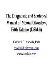 The Diagnostic and Statistical Manual of Mental Disorders.pdf