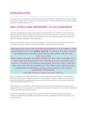 WHY ETHICS ARE IMPORTANT TO ACCOUNTANTS.doc