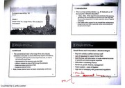 Differences of Small and Large Firms Lecture Notes 6