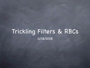 Lecture WWTP 3 - Trickling Filters _ RBCs