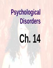 Ch 14_Mental Disorders.ppt