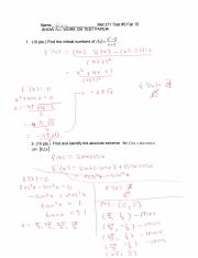 calc test 3 with solutions