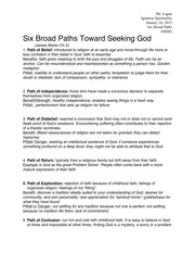 Broad Paths Study Guide