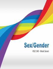 HSCI 340 Sex and Gender -distribution
