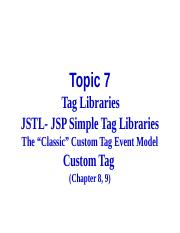 07. Tag Libraries.pptx