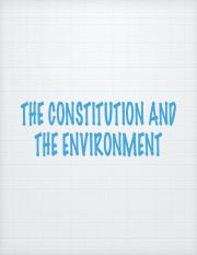 The Constitution and the Environment.pdf