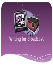 BroadcastWriting.pptx