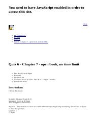 Quiz 6 - Chapter 7 - open book, no time limit: BAD10: American Business in Its Global Context: Secti