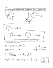 Final Exam B Solution Spring 2005 on Calculus and Analytic Geometry IV