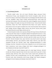 Tugas Makalah Pancasila Docx Bab I Pendahuluan 1 1 Latar Belakang Masalah Pancasila Sebagai Sumber Nilai Anti Korupsi Dibenarkan Dengan Pernyataan Course Hero
