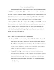 macbeth movie and book essay mental illness drawing them in  2 pages othello film technique essay intro and outline