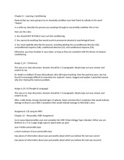 personality type example essay one thing that i thought was  most popular documents for psy