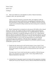 Auditing Homework Chapter 1 & 2.docx