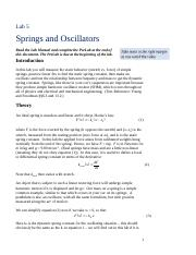 Prelab_Lab Manual_Springs and Oscillators(2)
