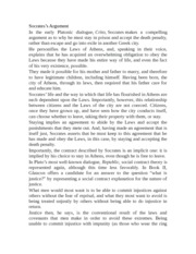 crito argument A critique of the crito and an argument for philosophical anarchism by forrest cameranesi in this essay i will present a summary and critique of plato's dialogue crito, focusing especially on socrates' arguments in favor of his obligatory obedience to the athenian state's.
