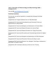 Pharmacology homework help
